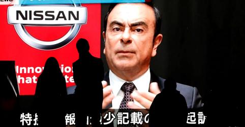 Ghosn propõe usar tornozeleira eletrônica para ter direito à fiança