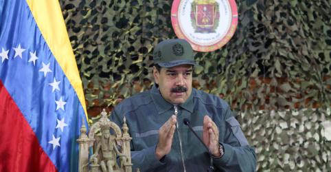 Placeholder - loading - Em vídeo, homem com uniforme militar na Venezuela pede que Maduro não seja reconhecido