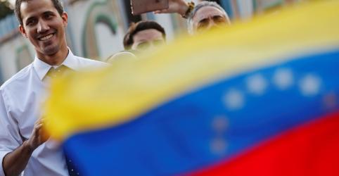 Placeholder - loading - Imagem da notícia Supremo da Venezuela desautoriza nomeação de líder de oposição Guaidó como presidente da Assembleia