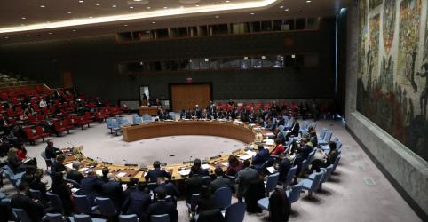 Placeholder - loading - Imagem da notícia EUA pedem reunião do Conselho de Segurança da ONU sobre Venezuela