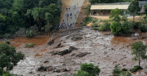 Placeholder - loading - Imagem da notícia Prefeitura de Brumadinho faz alerta para população se manter longe de rio após rompimento de barragem da Vale