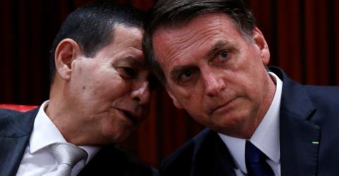 Mourão assumirá Presidência por 48 horas a partir da 2ª-feira com cirurgia de Bolsonaro