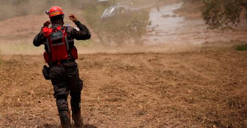 Placeholder - loading - Imagem da notícia Após susto com barragem de água, trabalhos em Brumadinho ainda têm longo caminho pela frente