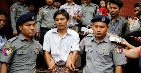 Placeholder - loading - Imagem da notícia Jornalistas da Reuters presos recorrem à Suprema Corte de Mianmar