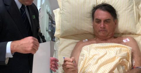 Placeholder - loading - Imagem da notícia Bolsonaro diz que funções fisiológicas estão em plena evolução