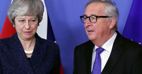 Placeholder - loading - May pede coordenação urgente à UE para concretizar Brexit