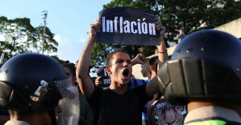 Placeholder - loading - Imagem da notícia Assembleia Nacional da Venezuela diz que inflação passou de 2,5 milhões por cento em 12 meses