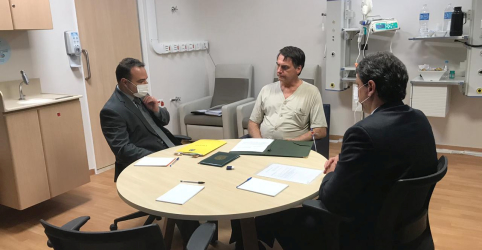 Bolsonaro apresenta melhora e deixa unidade de terapia semi-intensiva, diz boletim médico