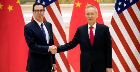 Placeholder - loading - Imagem da notícia Negociações comerciais entre China e EUA avançam para nível mais alto e prazo final se aproxima