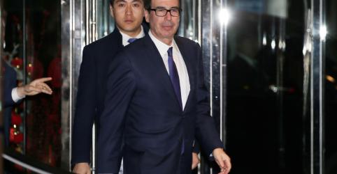 Placeholder - loading - Imagem da notícia Mnuchin diz que EUA tiveram reuniões 'produtivas' com a China sobre comércio