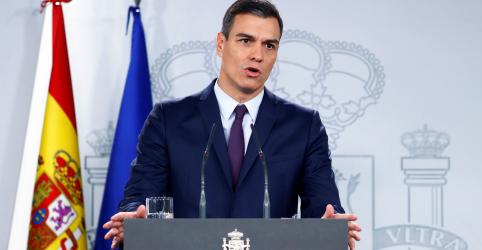 Premiê espanhol convoca eleições antecipadas para 28 de abril