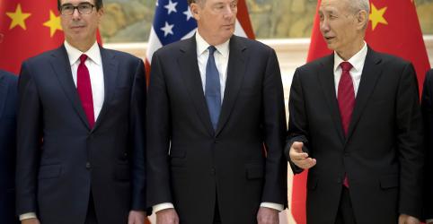 China diz que chegou a consenso sobre questões importantes em negociação comercial com EUA