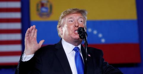 """Placeholder - loading - Trump faz apelo para que militares da Venezuela abandonem Maduro ou """"perderão tudo"""""""