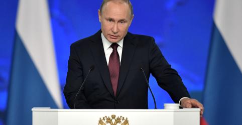 Putin diz que Rússia responderá se EUA instalarem mísseis na Europa