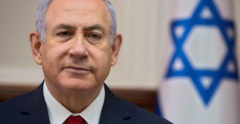 Placeholder - loading - Imagem da notícia Principais rivais de Netanyahu formam aliança para eleição israelense