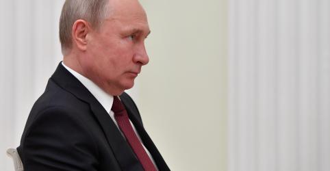 Placeholder - loading - Imagem da notícia Após alerta de Putin, TV russa lista alvos nucleares dos EUA