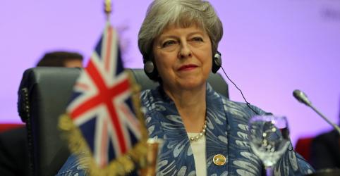 Placeholder - loading - Imagem da notícia Atraso do Brexit não vai resolver impasse sobre o acordo, diz Theresa May