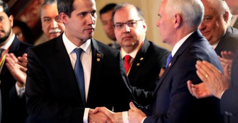 Placeholder - loading - Imagem da notícia Rejeição violenta da Venezuela a ajuda aumenta determinação dos EUA a apoiar oposição, diz Pence