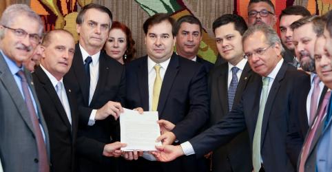 Placeholder - loading - Imagem da notícia Liderança do governo vai defender reforma da Previdência na íntegra