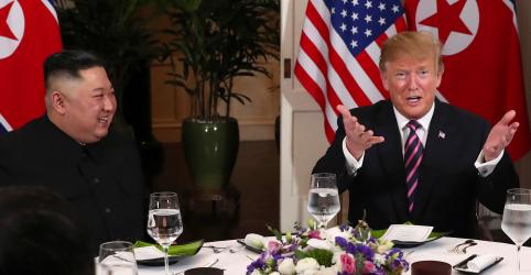 Trump afirma que teve 'diálogo muito bom' com líder norte-coreano