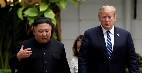 Placeholder - loading - Coreia do Sul lamenta falta de acordo entre Kim e Trump, mas diz que progresso foi feito