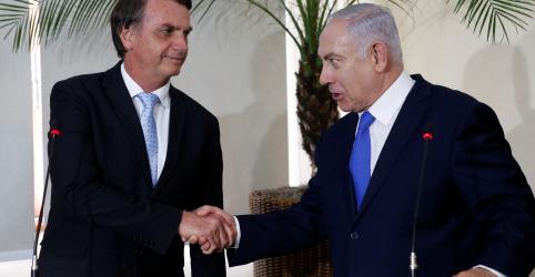 Placeholder - loading - Imagem da notícia Bolsonaro visitará Israel em potencial impulso eleitoral a Netanyahu