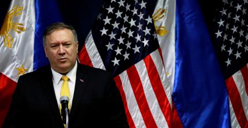 Pompeo garante proteção dos EUA às Filipinas em caso de conflito marítimo