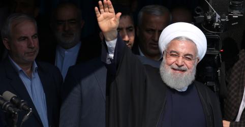 Placeholder - loading - Imagem da notícia Presidente do Irã acusa EUA de tentarem mudar establishmentclerical