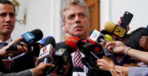 Placeholder - loading - Imagem da notícia Venezuela expulsa embaixador alemão por interferência em assuntos internos