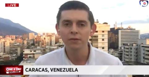 Placeholder - loading - Imagem da notícia Venezuela liberta jornalista norte-americano após um dia sob custódia