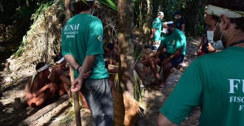 Placeholder - loading - Imagem da notícia Funai envia expedição para proteger tribo isolada da Amazônia