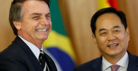 Relação com China 'vai melhorar, com toda certeza', diz Bolsonaro