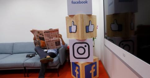 Facebook restabelece serviços após falha global