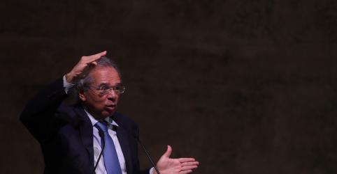 Placeholder - loading - Imagem da notícia Em Washington, Guedes reclama de tratamento e cobra abertura dos EUA para o Brasil