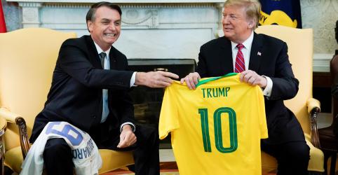 Trump promete apoio à entrada do Brasil na OCDE e defende 'grande aliança'