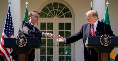 Placeholder - loading - Trump diz que pretende designar Brasil como possível 'aliado da Otan'