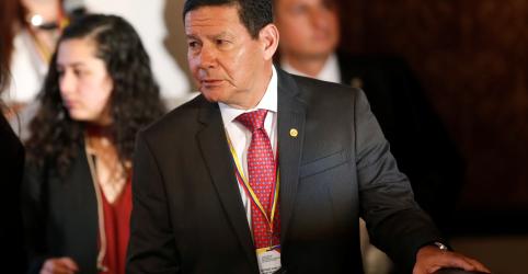 Placeholder - loading - Imagem da notícia Mourão descarta apoio logístico do Brasil a eventual intervenção dos EUA na Venezuela
