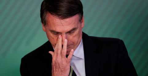 Avaliação positiva de governo Bolsonaro cai 15 pontos desde janeiro e soma 34%, diz Ibope