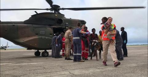 Agentes de resgate ampliam buscas por sobreviventes de ciclone em Moçambique
