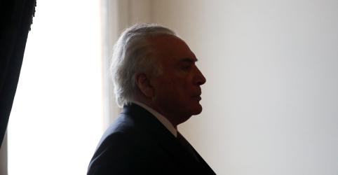 Placeholder - loading - Imagem da notícia Advogado de Temer confirma prisão e diz que ex-presidente será levado ao Rio de Janeiro