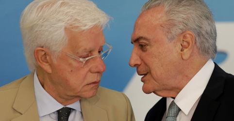 Temer e Moreira devem ser ouvidos ainda hoje pela PF no Rio, diz fonte