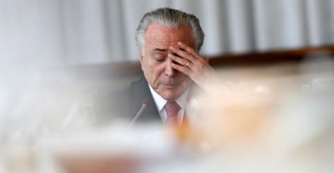 Corrupção em Angra 3 bancou reforma da casa de filha de Temer, diz juiz ao prender ex-presidente