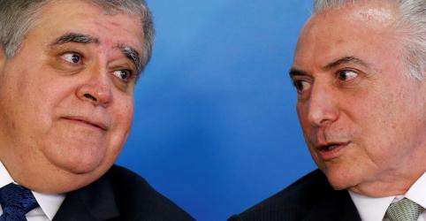 Temer está extremamente indignado com prisão, diz ex-ministro Marun