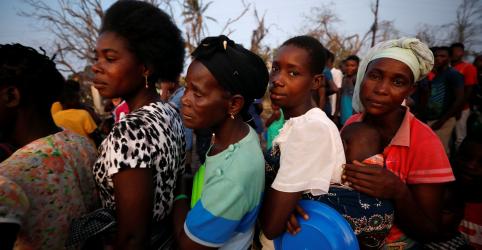 Moçambique confirma primeiros casos de cólera entre sobreviventes de ciclone
