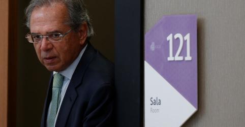 Placeholder - loading - Imagem da notícia Guedes e Maia afinam discurso e dizem que reforma da Previdência vai deslanchar