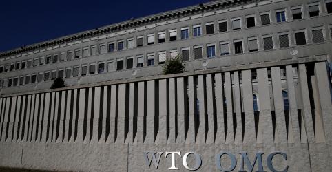 Placeholder - loading - Imagem da notícia OMC diz que comércio global desacelerou no 4º tri e reduz projeções