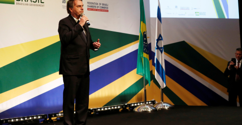 Mudar embaixada para Jerusalém não é tão simples, diz Bolsonaro em entrevista a TV