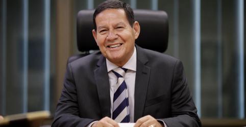 Placeholder - loading - Mourão diz que governo tem expectativa 'elevada' de aprovar Previdência nos próximos meses