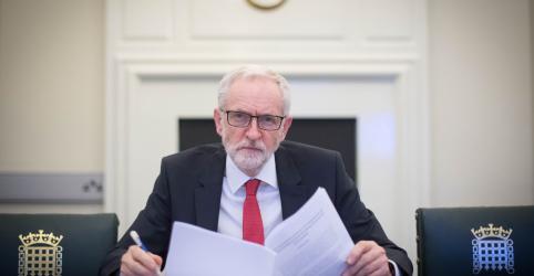 Placeholder - loading - Trabalhista Corbyn diz que premiê britânica não cedeu o suficiente no Brexit