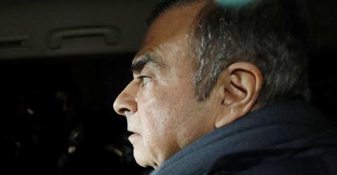 Placeholder - loading - Ghosn se diz 'inocente' e pede ajuda da França após nova prisão